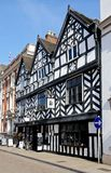 Tudor Cafe, Lichfield, England. Royalty Free Stock Images
