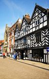 Tudor Cafe, Lichfield, England. Royalty Free Stock Photos