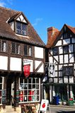 Tudor Cafe, Tewkesbury photographie stock