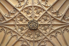 Tudor Ceiling fotografia stock libera da diritti