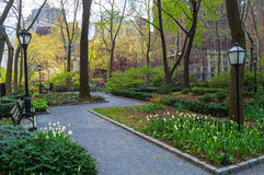 Tudor City Greens Spring Stock Photo