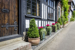 Tudor Cottage Front Royalty Free Stock Photo