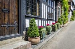 Tudor Cottage Front Royalty Free Stock Photo