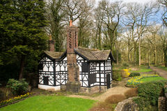 The tudor cottage. Royalty Free Stock Image