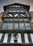 Tudor dom, Shropshire Fotografia Royalty Free