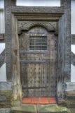 Tudor Door, Shropshire images libres de droits