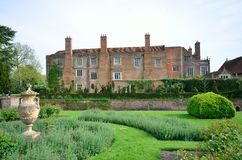 Tudor dwór Zdjęcia Stock