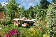 Tudor garden Stock Photos