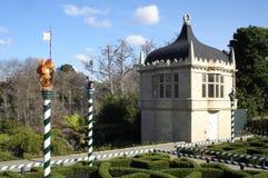 Tudor Garden en Hamilton Gardens New Zealand imagen de archivo libre de regalías