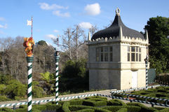 Tudor Garden in Hamilton Gardens New Zealand Royalty Free Stock Image