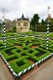 Tudor Garden Imagination-dénommé en Hamilton Gardens photo libre de droits