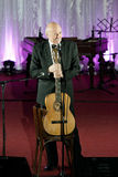 Tudor Gheorghe in concert at Slatina, Romania Stock Photo