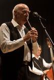 Tudor Gheorghe en concierto en Izbiceni, Olt imagen de archivo