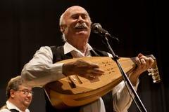 Tudor Gheorghe en concierto en Izbiceni, Olt imagen de archivo libre de regalías