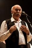 Tudor Gheorghe en concierto en Izbiceni, Olt foto de archivo libre de regalías