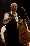 Tudor Gheorghe en concierto en Izbiceni, Olt fotografía de archivo libre de regalías
