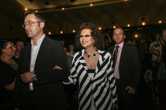Tudor Giurgiu, Claudia Cardinale Stock Photo