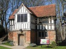 Tudor Grammar School Immagini Stock Libere da Diritti