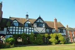 Tudor guildhall Stock Image