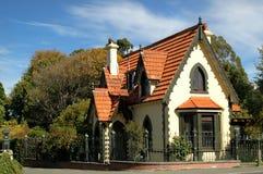 Tudor Haus Lizenzfreie Stockfotos