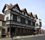 Tudor Haus stockfoto