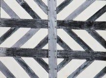 Tudor-Haus-Musterhintergrund Stockbilder