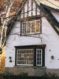 Tudor home. Tudor style residential house Royalty Free Stock Photos