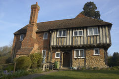 Tudor house. An  old tudor house in Kent, England Stock Photos