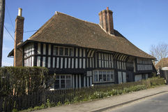 Tudor house. An  old tudor house in Kent, England Royalty Free Stock Images