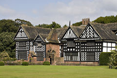 Tudor House. A Tudor manor house with black and white timbers Stock Images