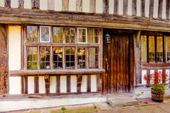 Tudor House Close Up photos libres de droits