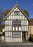 Tudor House Facade, England Stock Images