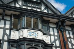 Tudor house Royalty Free Stock Photo