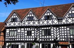 Tudor House Inn, Warwick images libres de droits