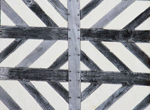 Tudor house pattern background Stock Images