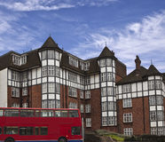 Tudor Houses Royalty Free Stock Photography