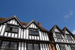 Tudor Houses Stock Image