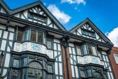 Tudor hus royaltyfri bild