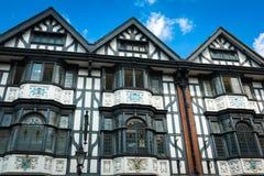 Tudor hus royaltyfri fotografi