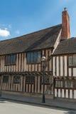 Tudor hus royaltyfria foton