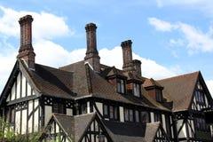 Tudor hus Arkivbild