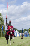 Tudor Knight Charging Stock Foto's