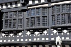 Tudor mangårdsbyggnad Arkivbild