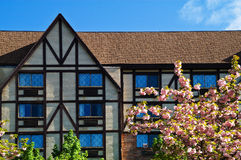 Tudor Manor in Spring Stock Images