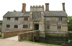 Tudor moated architecture Royalty Free Stock Image