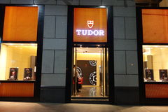 Tudor retail store in Beijing Stock Photo