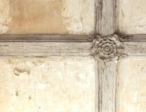 Tudor rose ceiling Stock Image