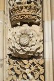 Tudor Rose und Krone Stockfotografie