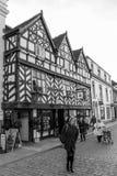 Tudor Row, Lichfield Foto de archivo
