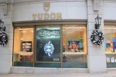 Tudor shop in hong kong Royalty Free Stock Photos